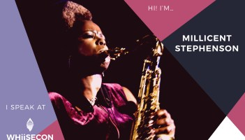 Banner Millicent Stephenson WhiiseCon Music Conference 2018