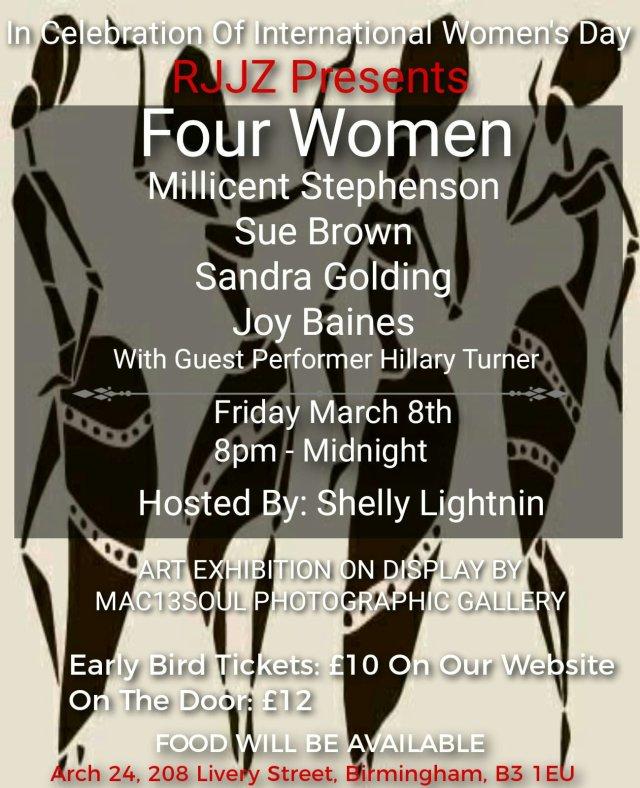 millicent stephenson rjjz international women's day