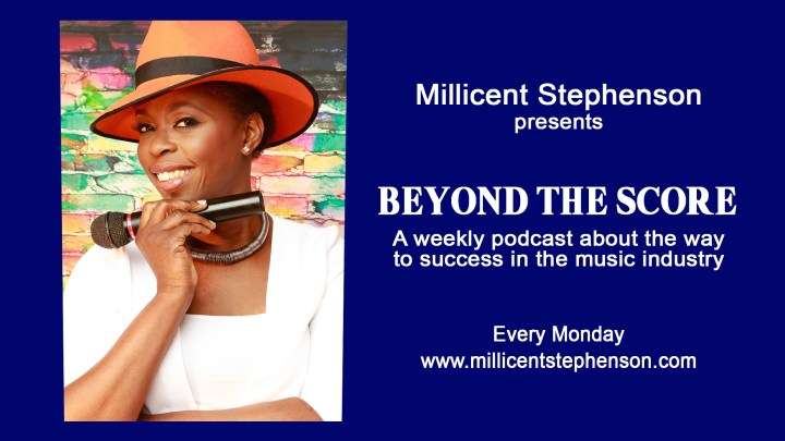 Cover image for Millicent Stephenson's Podcast 'Beyond The Score'.