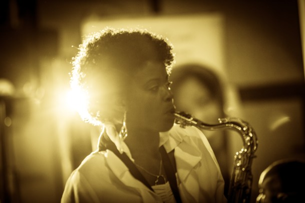 Millicent Stephenson (saxophonist) - Not Just Jazz