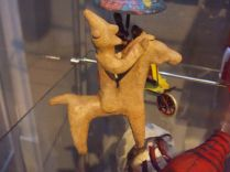 Clay horseman, dated 700 BC