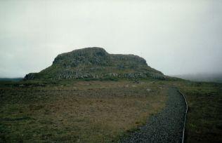 Álfaborg, the castle of the fairies near Borgarfjörður. Author: Schorle. Creative Commons