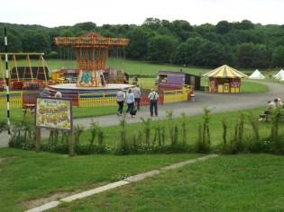 Approaching Beamish Funfair