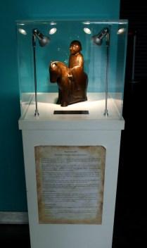 Knight 37, the miniature Poet Laureate Knight