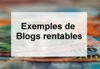 exemples blogs rentables