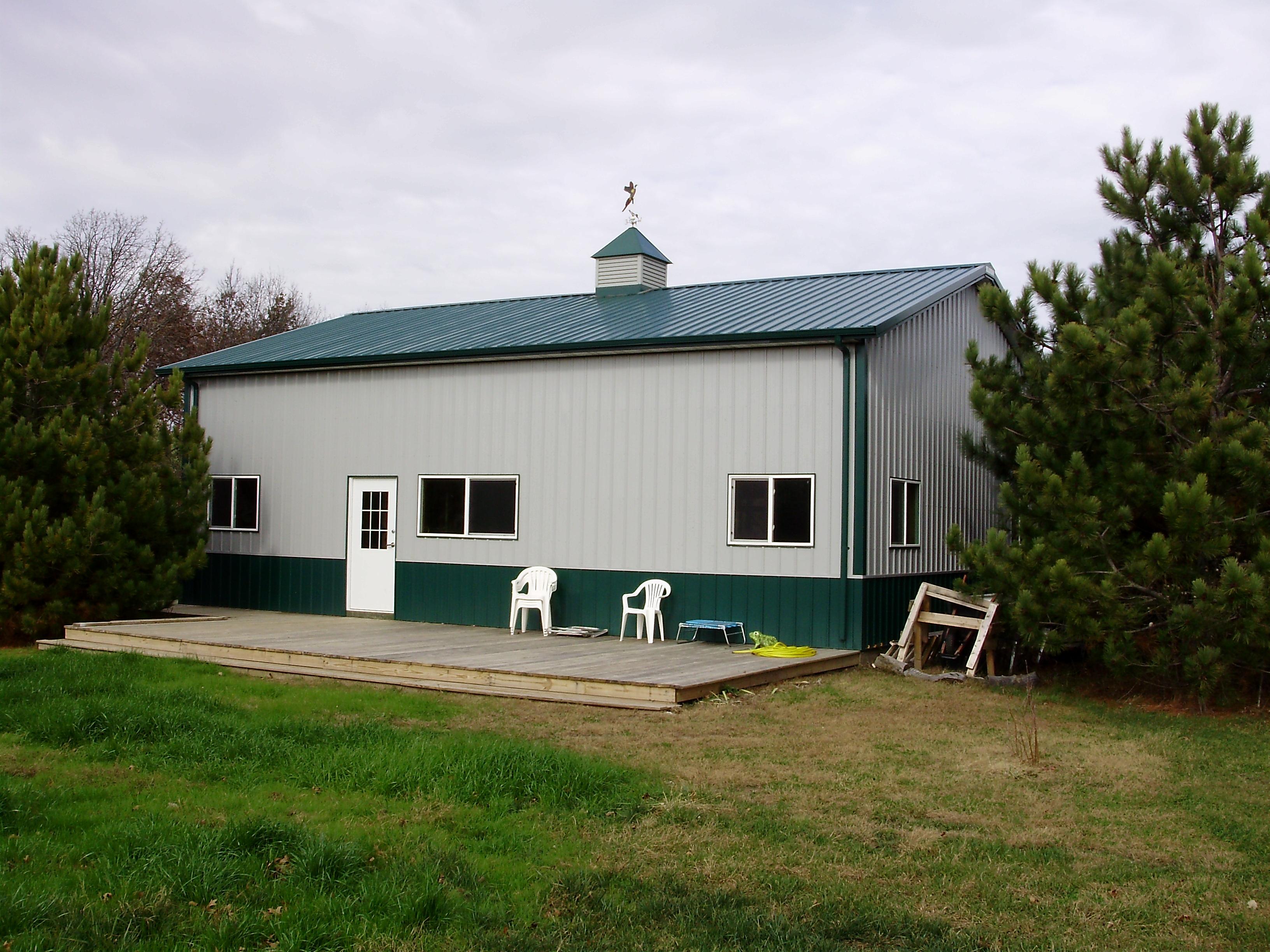 Pole Barn House  Milligans Gander Hill Farm