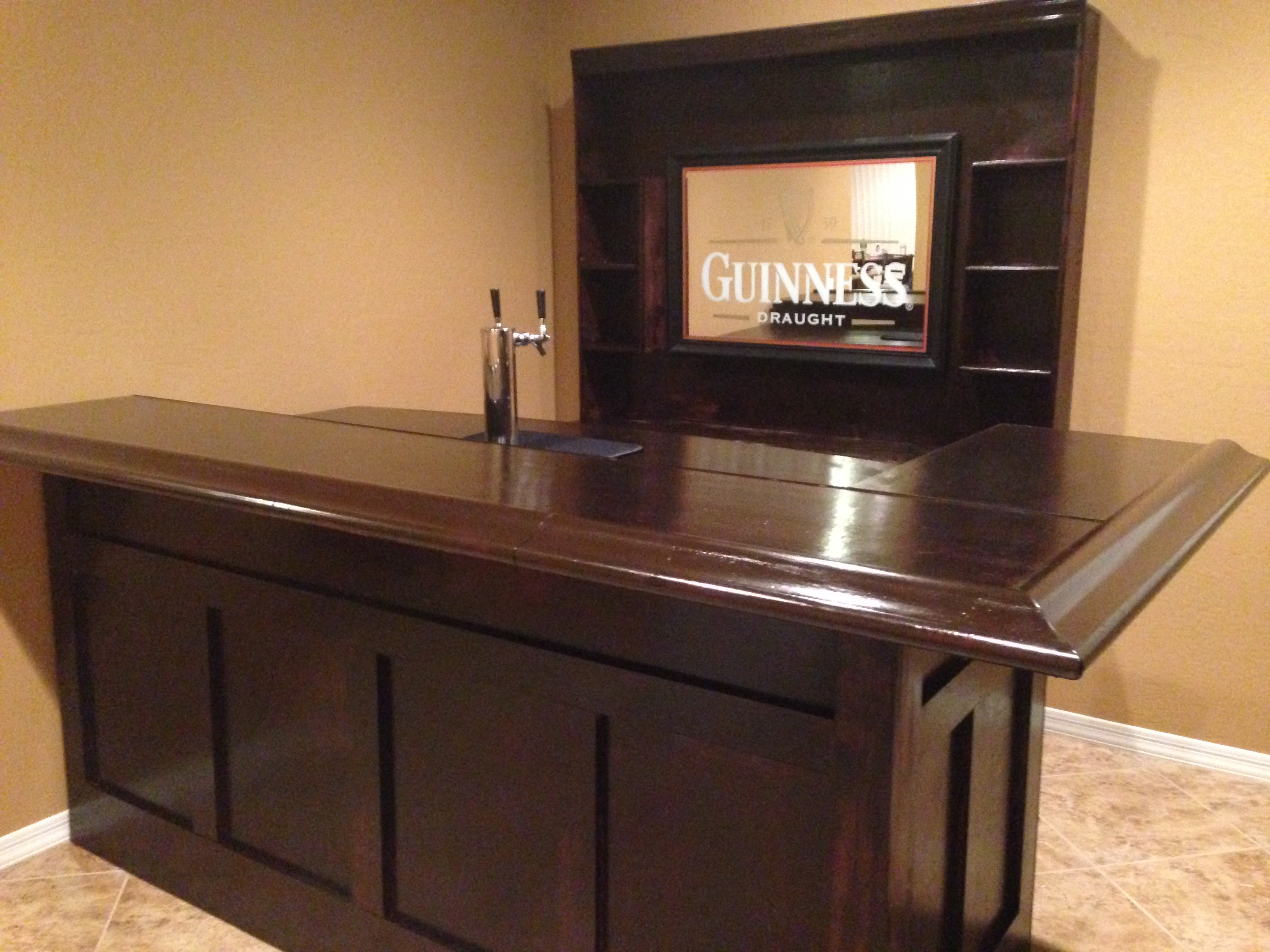 How To Build Your Own Home Bar Milligan's Gander Hill Farm