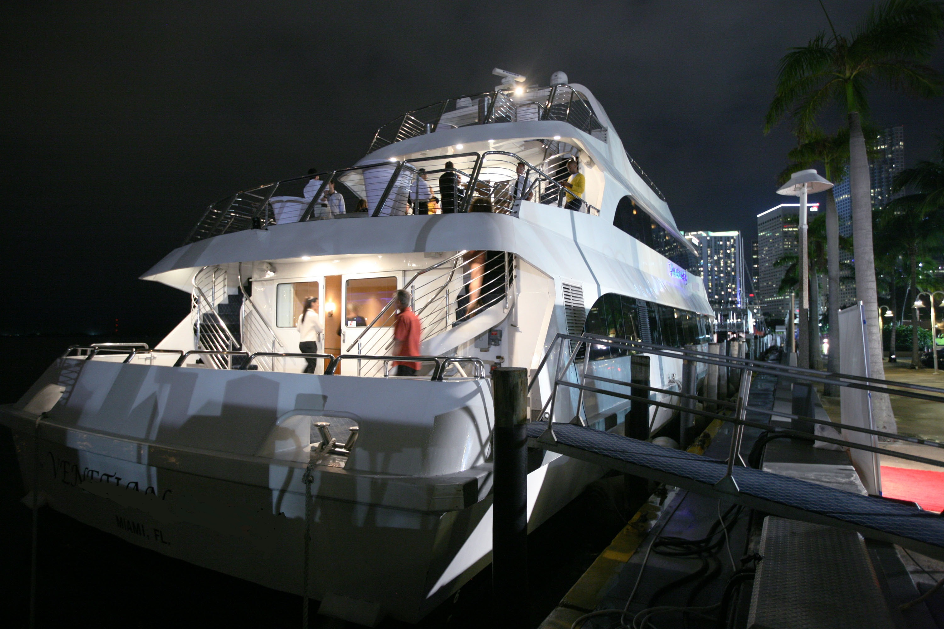 Private Charters Of A 130 Party Yacht