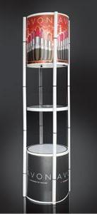 Pop Up Twister Tower Display System