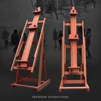 studio wood easel