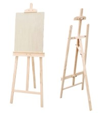 wood easel stand