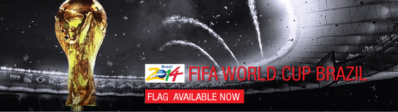 world cup flag supply