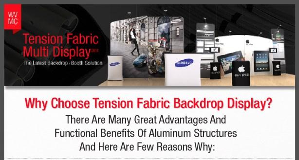 Tension Fabric Display Benefit