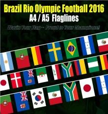 Brasil Rio Olympic 2016 Flagline