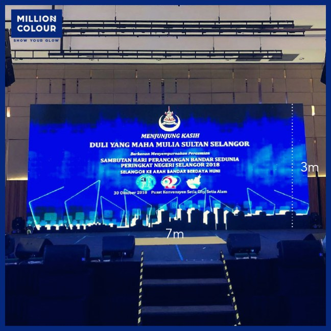 LED Screen Panel Backdrop Rent Malaysia