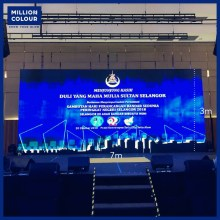 LED Screen Panel Backdrop Rent Malaysia