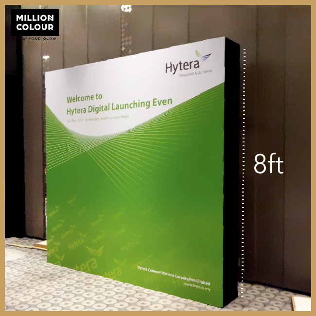 stage backdrop | MillionColour Display Advertising - Display
