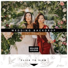 Wedding Backdrop Rent kl Malaysia
