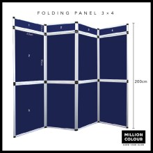 folding panel display system Malaysia