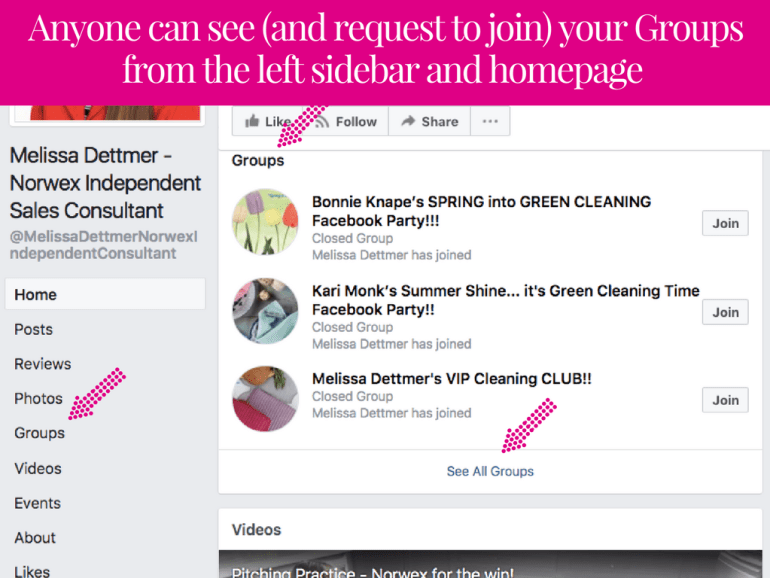 Direct Sellers Guide to Linking Their Facebook Group to