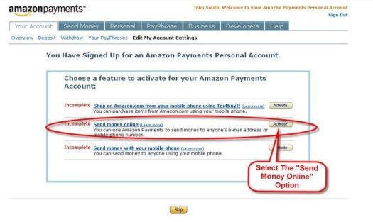Amazon Payments 2