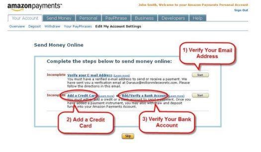 Amazon Payments 3