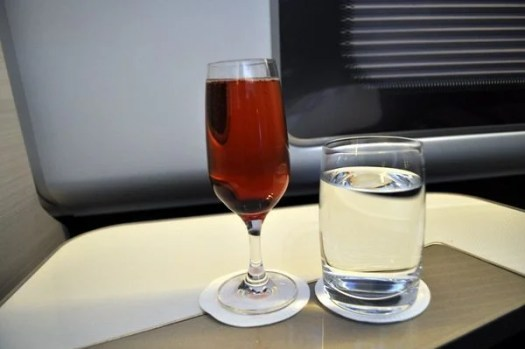 British Airways First Class Review - Kir Royale