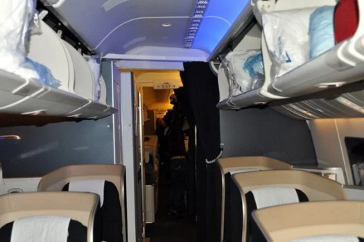 British Airways First Class Review - Cabin