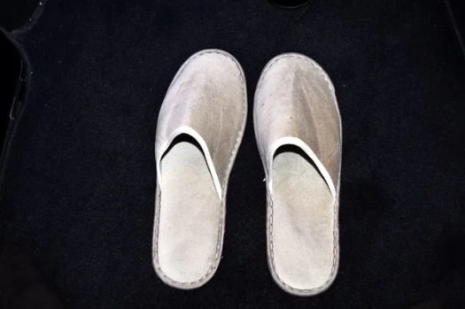 British Airways First Class Review - Slippers