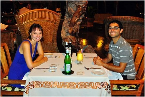Our 2nd Honeymoon in Paradise – Eating in the Hilton Bora Bora