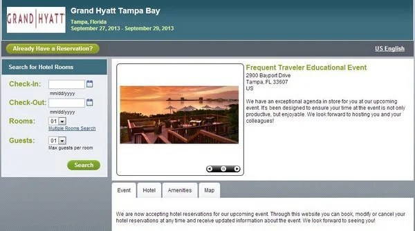 Frequent Traveler University Tampa Hotel Now Available