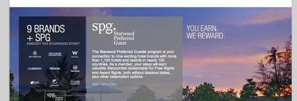 Starwood 30,000 Point Offer-001