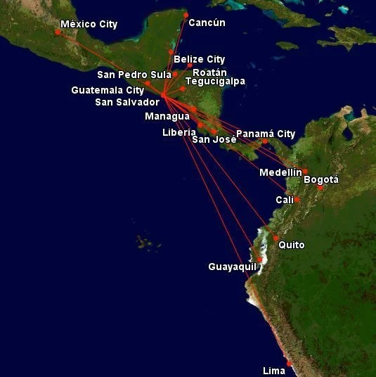 United Miles To Caribbean, Central And South America