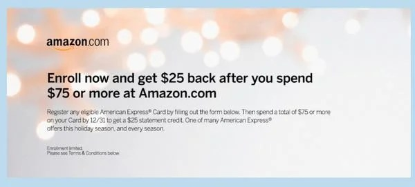 $25 Back for Spending $75 (Up to 33% Off) on Amazon! [Expired]