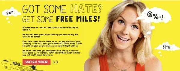 8,000 Free Miles for Hating an Airline!