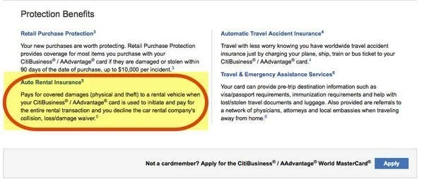 Which Credit Cards Offer Rental Car Insurance