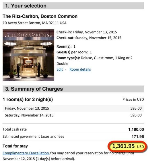 Better Offer Get 2 Free Nights At Ritz Carlton Hotels With The Chase Ritz Carlton Card