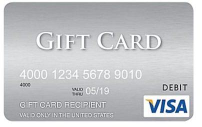 Blog Giveaway: $200 Visa Gift Cards!