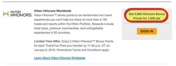 News You Can Use 150 Easy Starwood Points 20 Off Fairmont Hotels Hilton Transfer Bonus Club Carlson Promo
