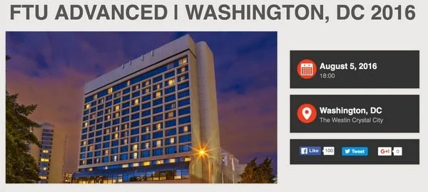 Tickets Available For Frequent Traveler University Advanced Event In Washington DC