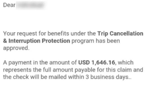Citi Trip Protection Really Works
