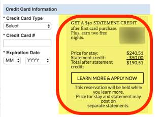 How To Get 2 Free Nights 50 Statement Credit With The Chase Hyatt Card