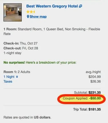 Act Fast Save 50 Off 200 Expedia Hotel Booking