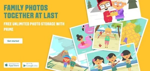 New Family Photo Sharing + 50 Free Photo Prints With Amazon Prime