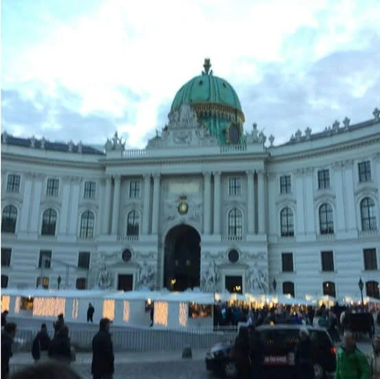 Success A Trip To Vienna From Opening 2 Credit Cards