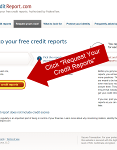 Step  click the  crequest your credit report button   also how to dispute and win million mile secrets rh millionmilesecrets