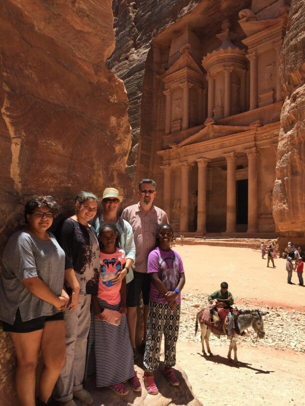 Success! Reader Darren Booked $100,000+ Worth of Travel to Egypt, Greece, Jordan, & More for His Family of 6 for Only ~$4,400!