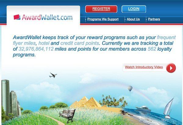 Award Wallet