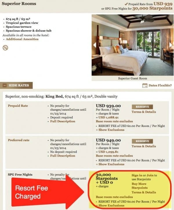 St. Regis Puerto Rico Charges A $60 Resort Fee On All Stays