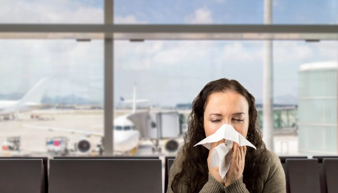 A Recent Study by Mattress Firm Found That Over 75% of the 2,800 People Surveyed Said They Would Still Fly on a Plane, Even if They Had a Cold or Flu